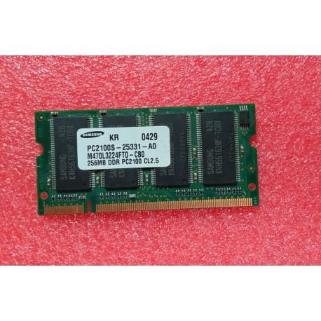 ORDENADOR PORTATIL - MODULO MEMORIA DDR 256MB - PC2100S-25331-A0