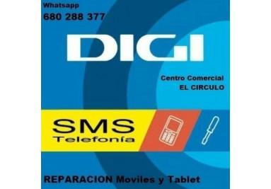 DIGIMOBIL, punto de venta y gestion productos FIBRA + 4G en tu movil