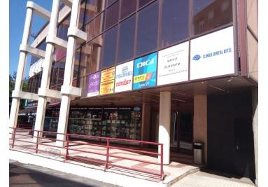 acceso directo tiendas INCOMAZ, JOYERIAS BRIONES y entrada a PARKING Centro Comercial